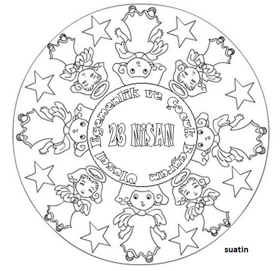 Sac Modelleri 2pics De 23 Nisan Mandala Calismalari