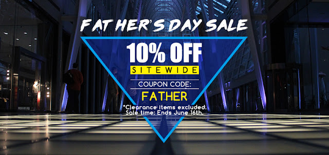 Father's Day Sale, more disdounts are waiting for you!