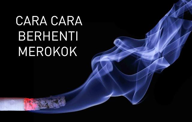 cara cara berhenti merokok