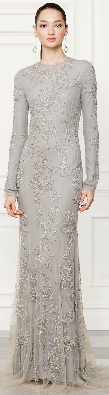 Ralph Lauren Danielson Evening Gown Fall 2014 Collection