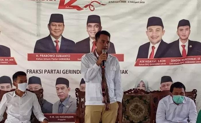 Gerindra Kehilangan Salah Satu Politisi Muda Paling Disegani