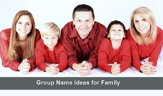 Cool Group Name ideas for Family WhatsApp Groups