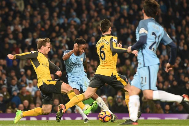 Manchester City Vs Arsenal FC
