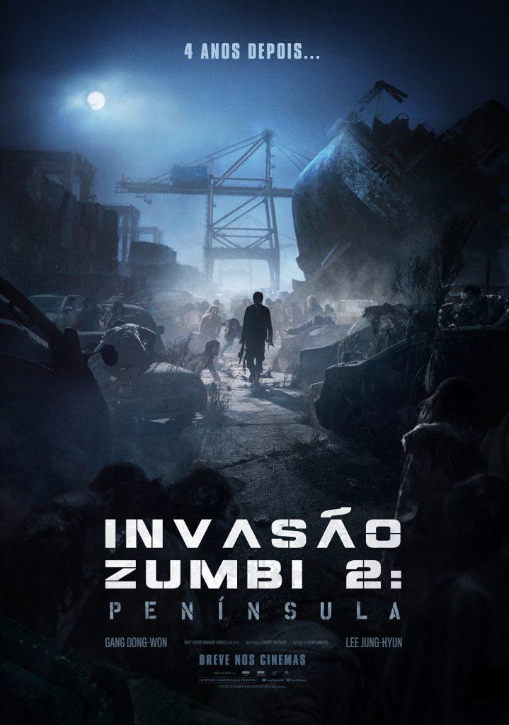 Invasão Zumbi 2: Península | Pôster e data de estreia