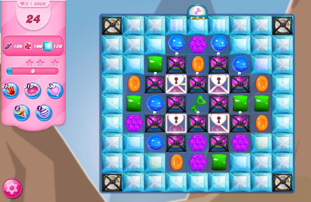 Candy Crush Saga level 8060