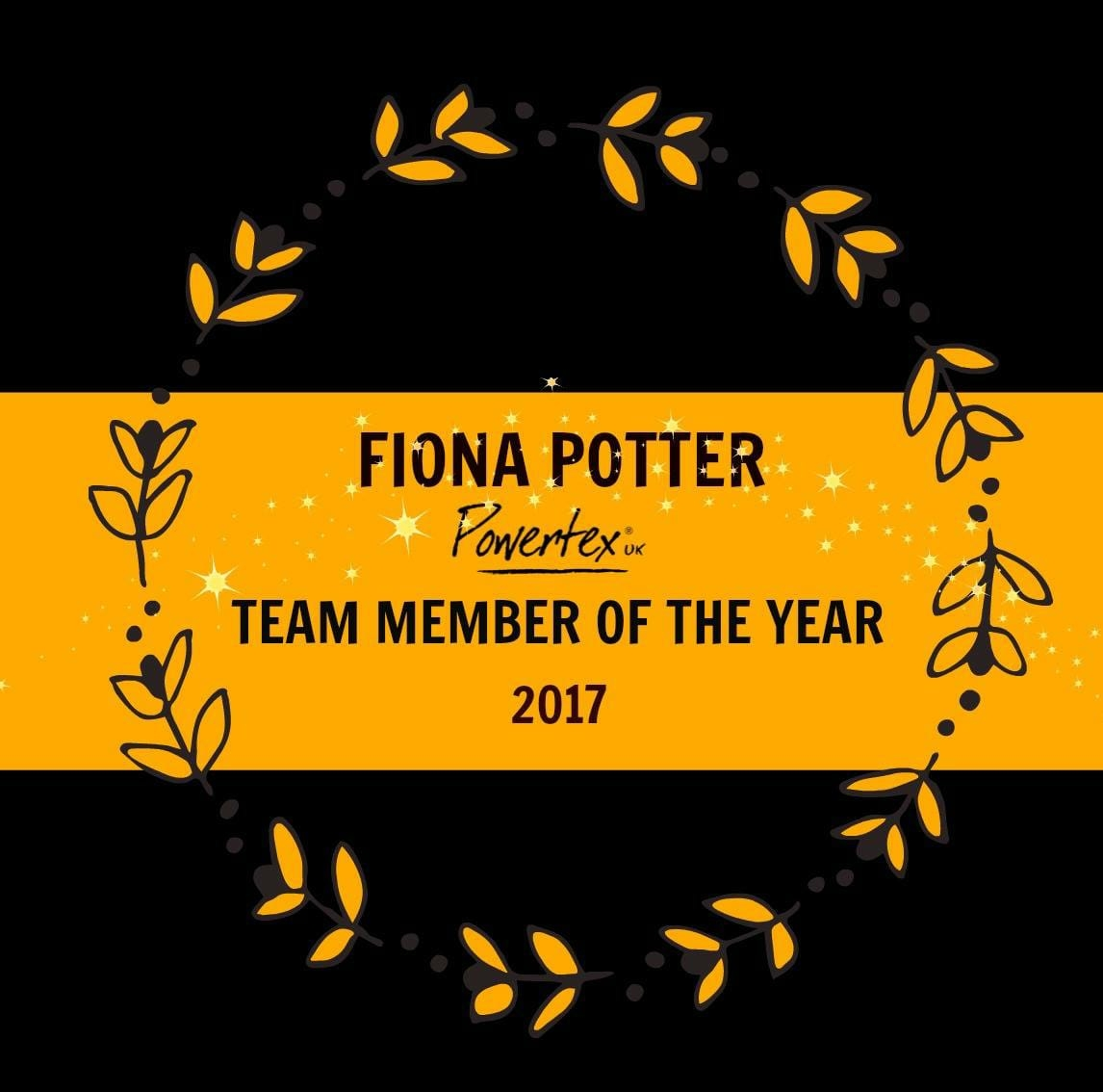 Powertex Team Member of the Year 2017