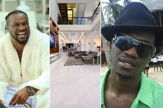 """""""Forget the glamour, I don suffer"""" – Paul Okoye says as he shows off his expensive living room"""