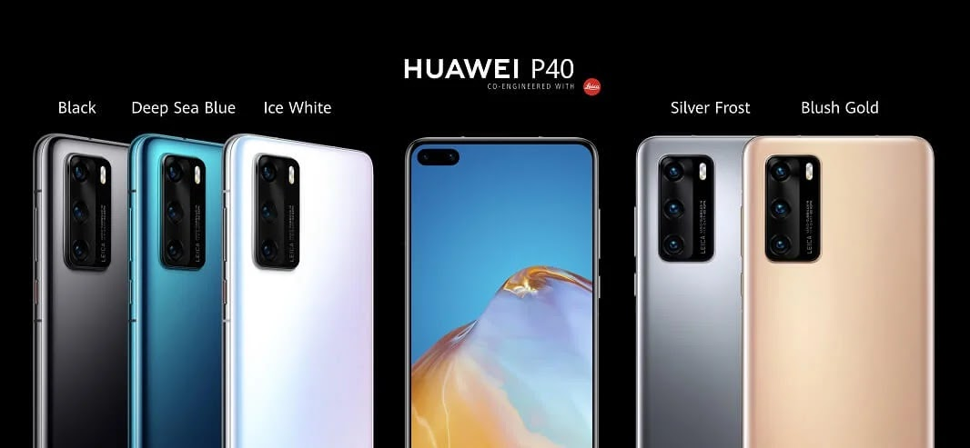 Huawei P40 Now Official; Pre-Order Yours for Php36,990 and Get Up To Php33,275 Worth of Freebies