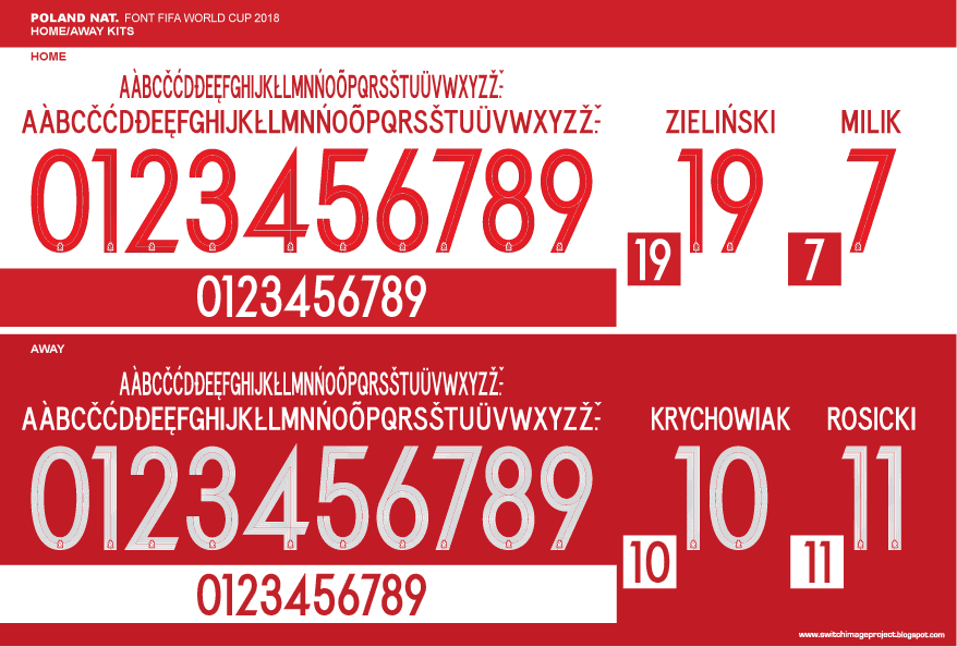 online here best loved great prices In Detail | ALL Unique Nike 2018 World Cup Kit Fonts - Footy ...