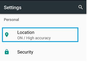 Cara Mudah Menonaktifkan Pelacakan Lokasi di Ponsel atau Tablet Android 7