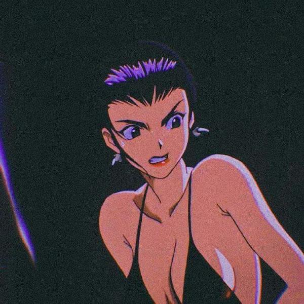 90S Anime Girl Aesthetic