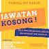 JAWATAN KOSONG DI JOHOR & PULAU PINANG / CARA MEMOHON