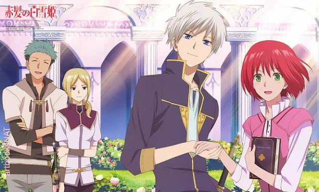 Daftar Rekomendasi Anime Fantasy Romance Terbaik - Akagami no Shirayukihime