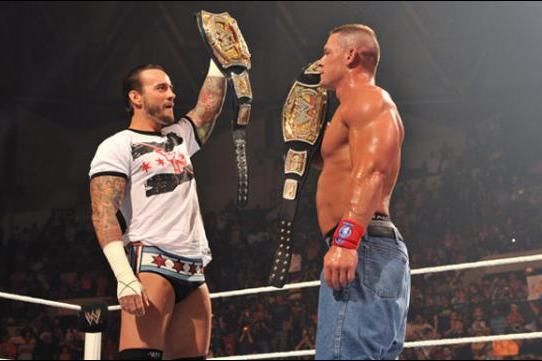 John Cena responds to CM Punk's WWE Championship win from Money in the Bank with an interesting post