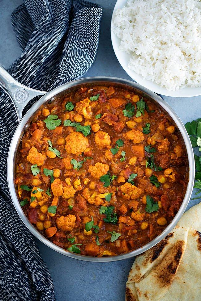 Chickpea Tikka Masala #vegetarian #vegan #chickpea #healthyrecipes #food