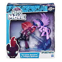 MLP the Movie Tempest Shadow and Twilight Sparkle Fan Series Figure