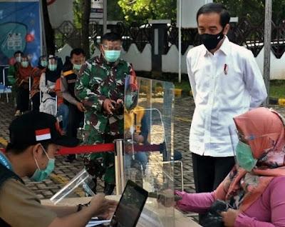Covid-19, Jokowi: Mulai Vaksinasi di Akhir Tahun 2020 atau di Awal Tahun 2021