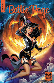 Cover of Bettie Page Halloween Special 2019 from Dynamite Entertainment