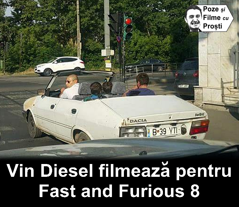 vin diesel filmeaza in romania fast and furious 8 poze haioase 2014. Black Bedroom Furniture Sets. Home Design Ideas