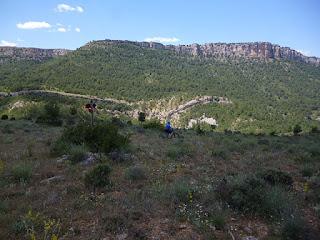 Camino natural del Tajo. Descenso