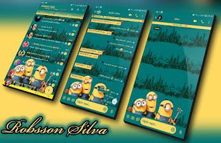 Minions Cute Theme For YOWhatsApp & Fouad WhatsApp By Robsson