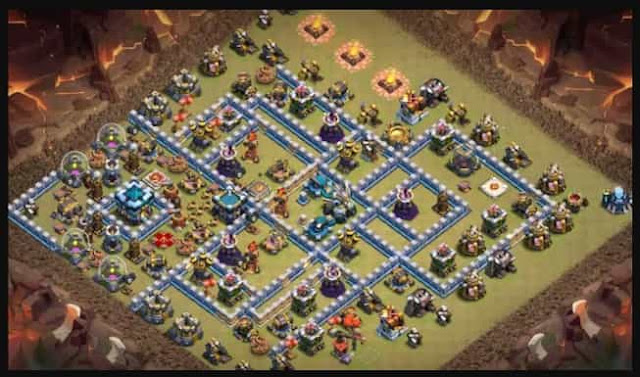 Top 10 Clash of Clan Th13 Anti 2 Star Base With Links