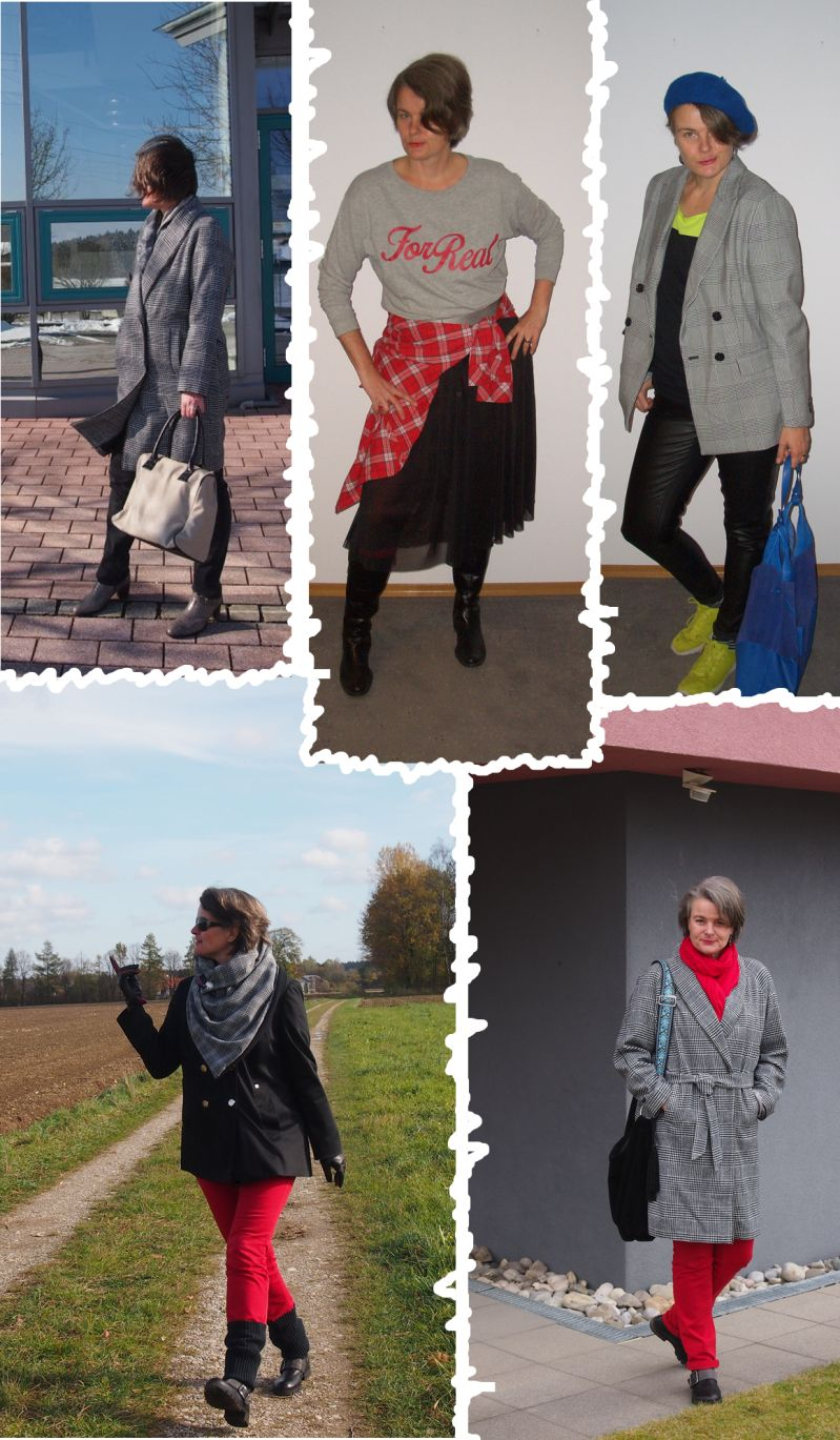 Modefarben und Muster im Herbst 2018 - Kombinationen aus dem eigenen Fundus