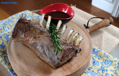 Carole's Chatter: Rack of Lamb with Mustard Sauce