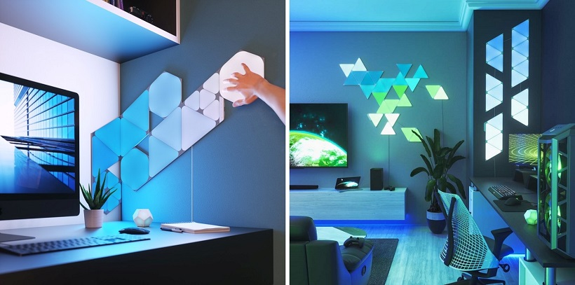 Nanoleaf launches Shapes Line, its gaming-ready smart lighting system
