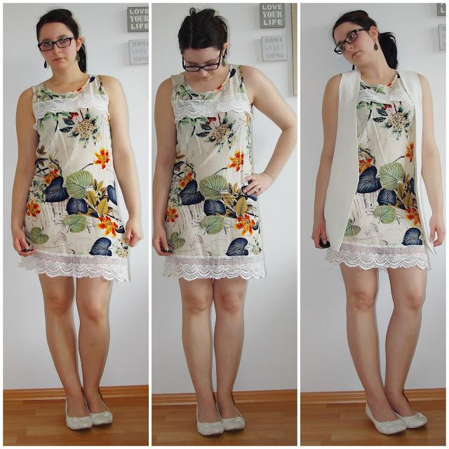[Fashion] Spring Dress & Sleeveless Blazer