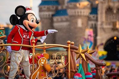 Natal no Tokyo Disneyland