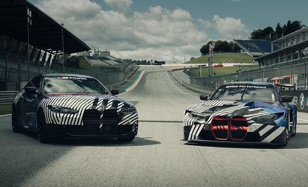 BMW M4 y BMW M4 GT3 2021