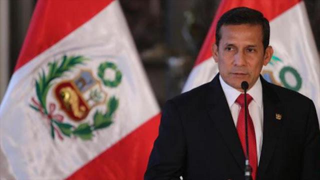 Congreso de Perú aprueba comisión investigadora a Humala