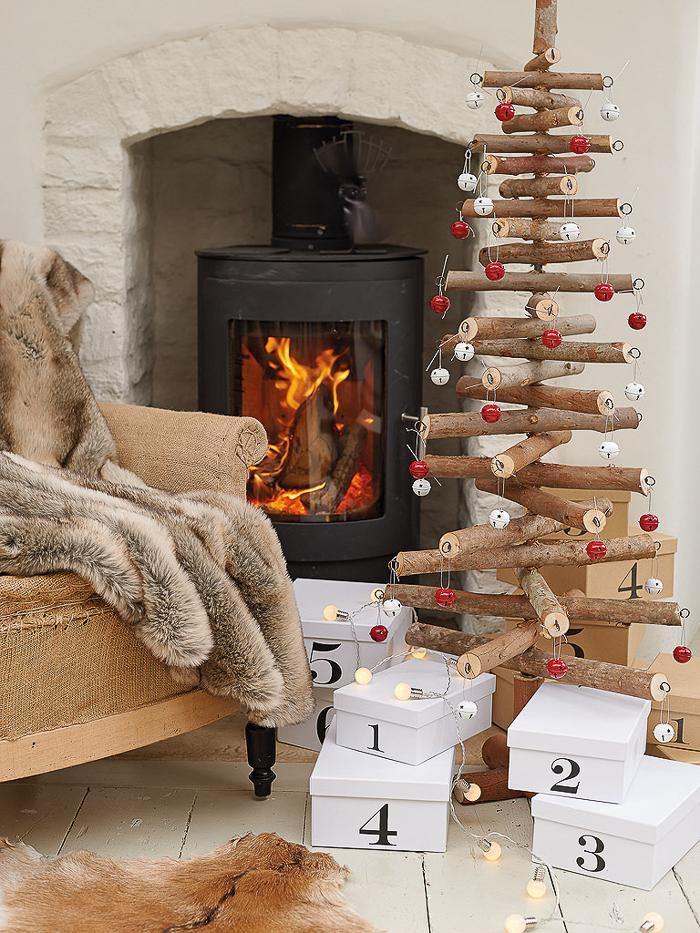 como hacer uno mismo la decoracion de navidad