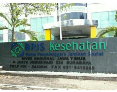Kantor BPJS Kesehatan di surabaya