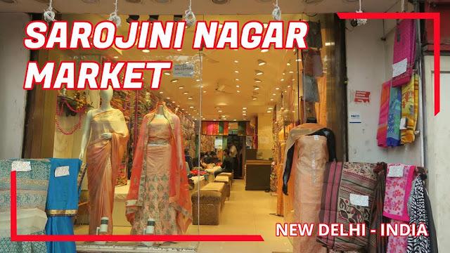 Sarojini Nagar Market New Delhi India