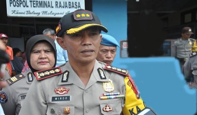 Ciptakan Pelayanan Prima untuk Pemudik, Polresta Bandar Lampung Tekankan Street Crime