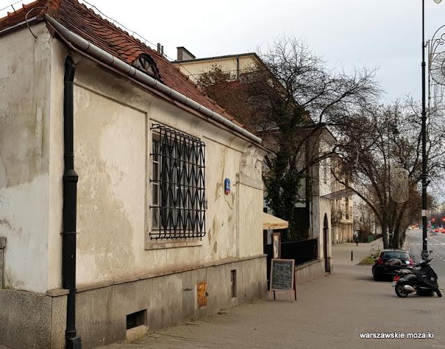 Warszawa Warsaw willa art deco Józef Czajkowski lata 20 Śródmieście Mieczysław Felicja Szerer