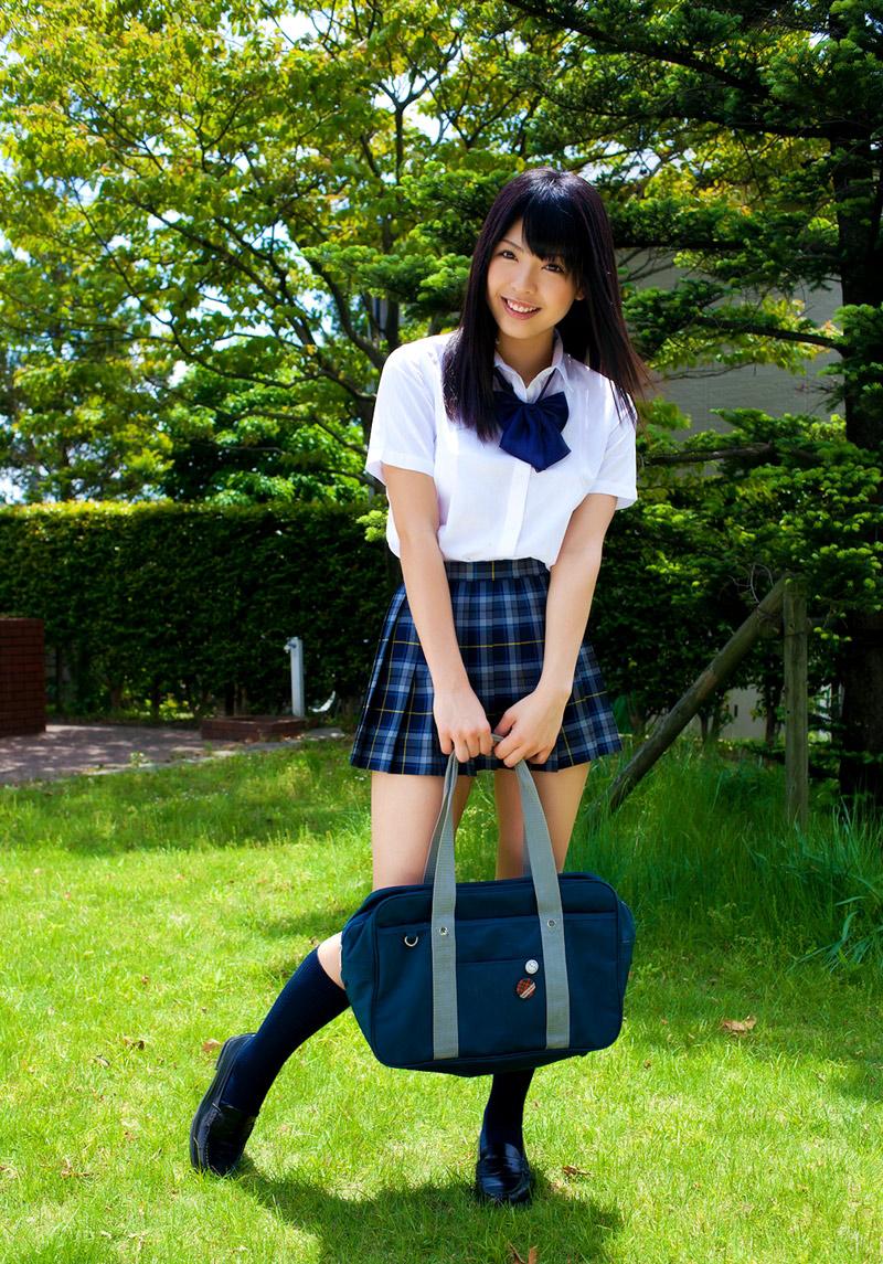 Japanese Schoolgirl Tube Sakura Seto In School Uniform-3928