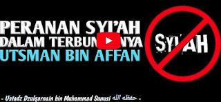 Peranan Syiah dalam Peristiwa Terbunuhnya Utsman Bin Affan [Video]