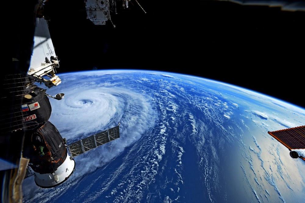 Hình ảnh siêu bão Noru chụp từ Trạm Không gian Quốc tế