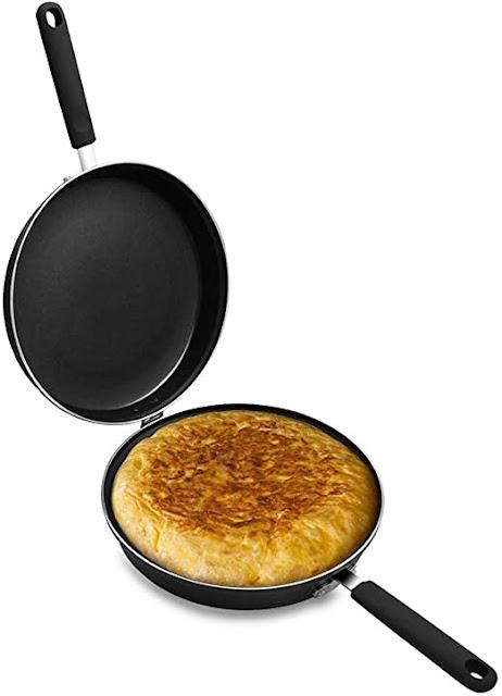 Sartén para hacer tortilla de Hostel Jiel