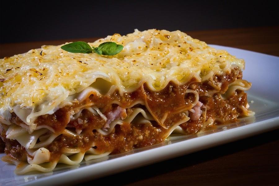 lasagna para niños sin gluten