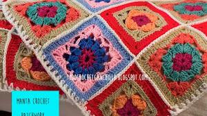 La mejor manta crochet: fácil, abrigada y creativa - paso a paso