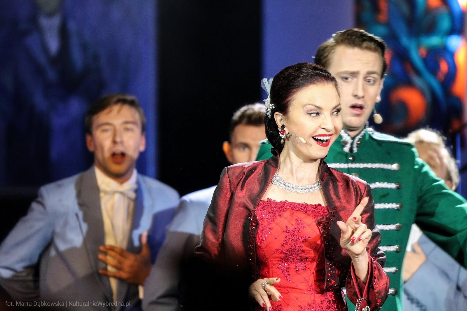 operetka Wesoła Wdówka Grażyna Brodzińska