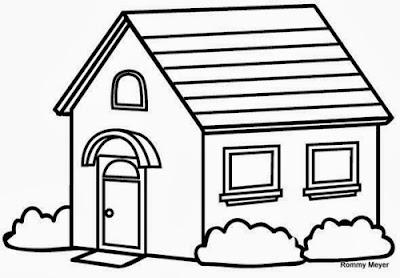 Maestra de primaria casas para colorear for Diferentes colores para pintar una casa
