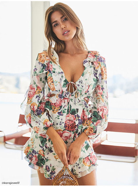 Summer Dress available on Revolve