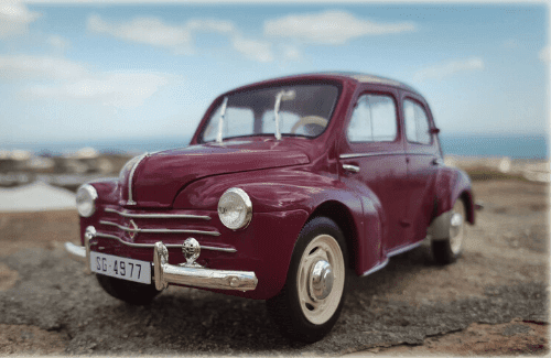 Renault 4 CV 1958 coches inolvidables salvat