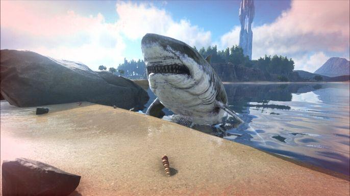 Nadar no jogo não é uma boa opção, evite ao máximo está atividade, pois é possível encontrar criaturas mortais