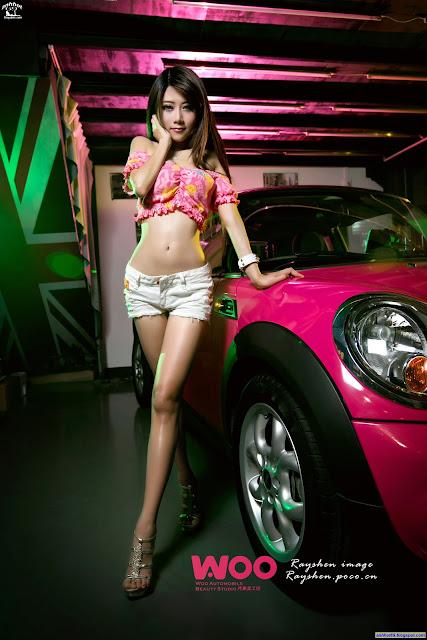 """Vivi Xia Xiaowei - Người đẹp """"đốt cháy"""" xe sang"""